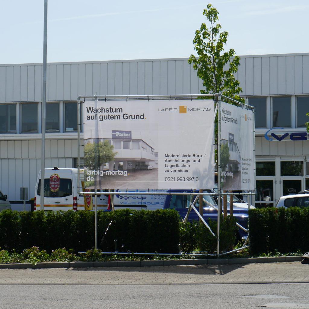 Banner-Spannrahmen - www.der-maklershop.de